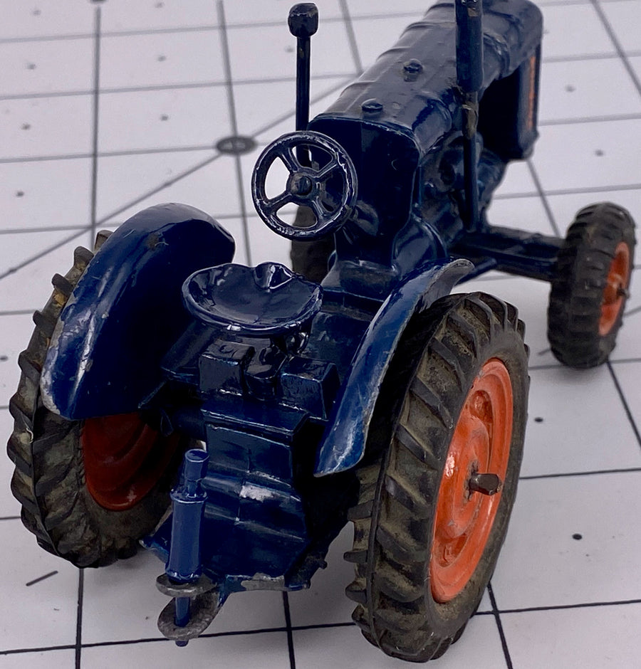 Britains Fordson Major Tractor, rubber tyres, boxed