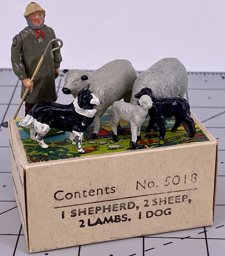 Britains Farm picture pack - shepherd, sheep and dog