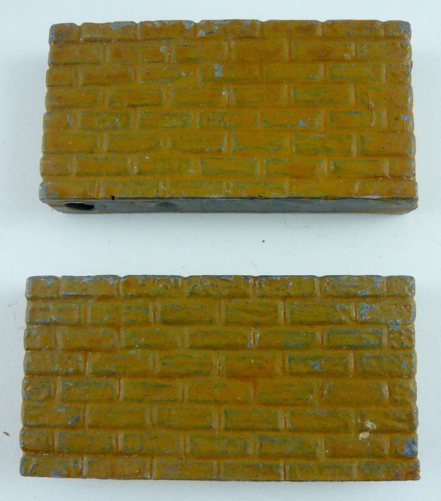 Taylor & Barrett pair brick walls, sand brown