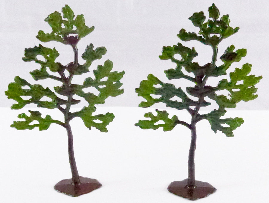 Britains Lilliput series pair of trees