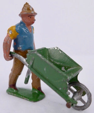 French man and wheelbarrow