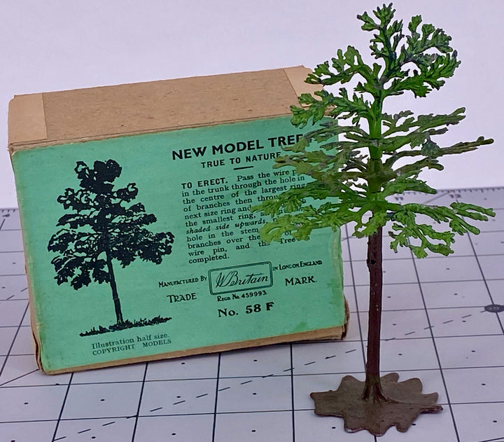 Britains Miniature Gardening new model tree, boxed, green label