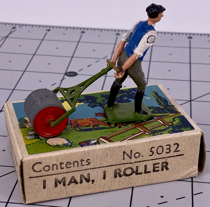 Britains man with roller, boxed