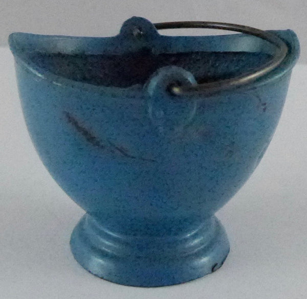 Britains blue coal bucket