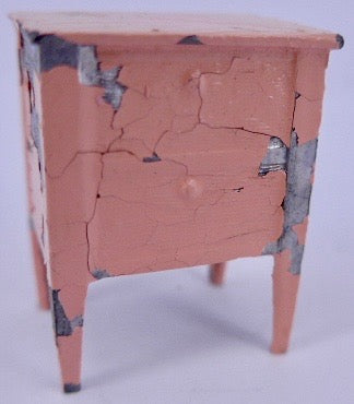 Tootsie Toy pink bedside table