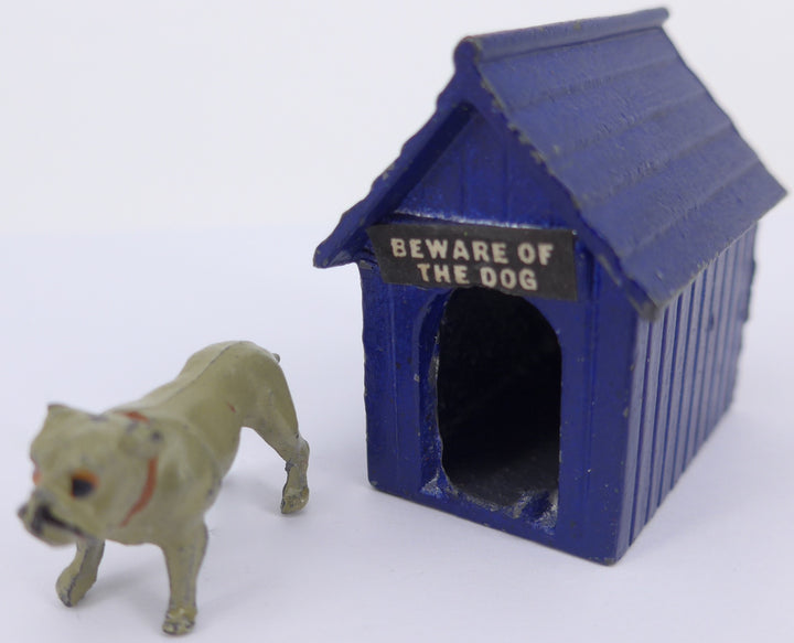 rare blue Johillco kennel with bulldog