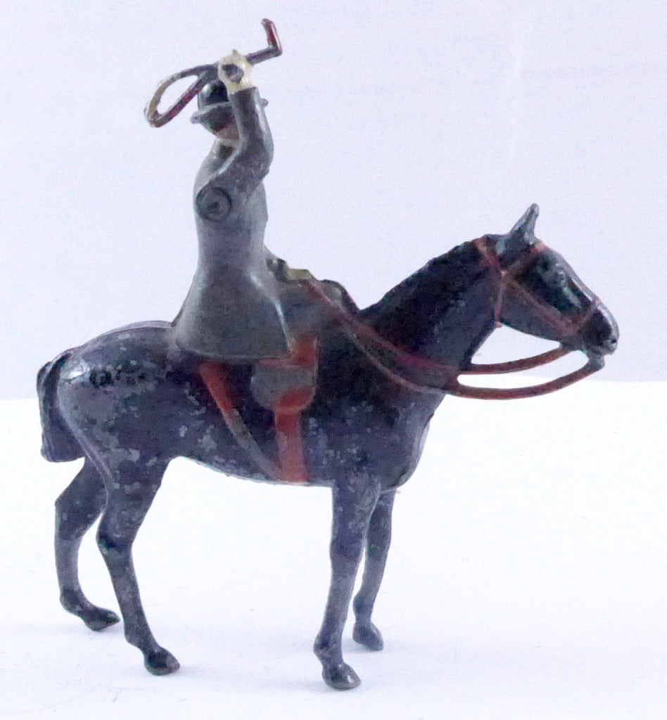 Britains Hunt Series huntswoman mounted sidesaddle, grey habit