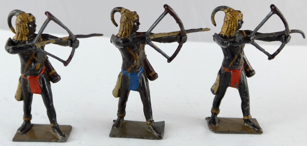Britains Togoland warriors, set of 7