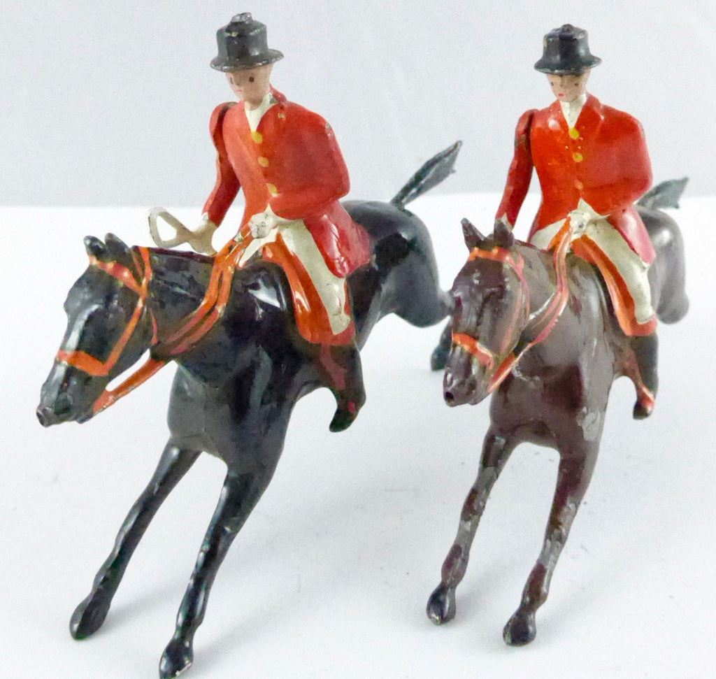 Britains Hunt Series two huntsmen at gallop