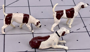 Britains picture box of 6 assorted dogs