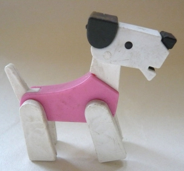 Britains Twizzle Town circus dog, pink