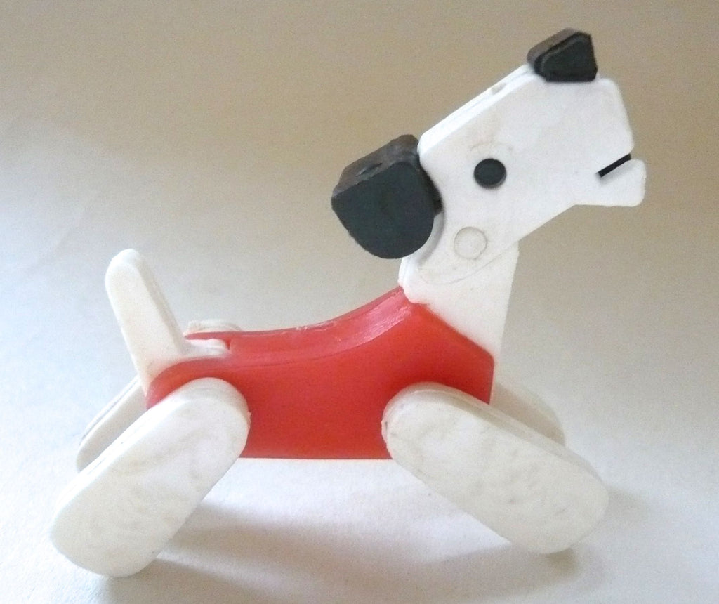 Britains Twizzle Town circus dog, red