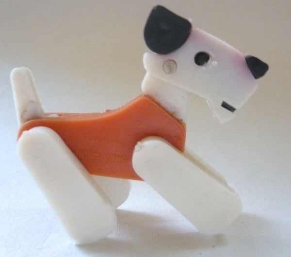 Britains Twizzle Town circus dog, orange