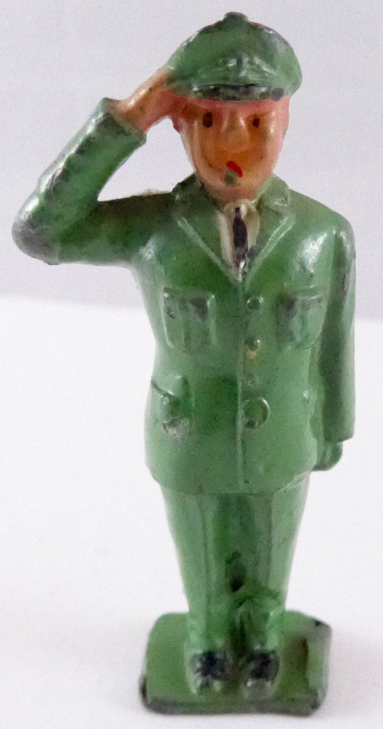 Crescent Digby saluting from Dan Dare space set