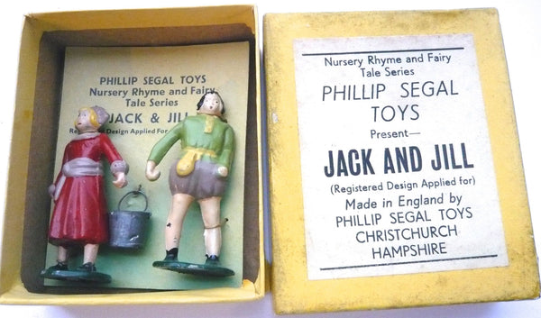 Phillip Segal Toys Jack & Jill, boxed
