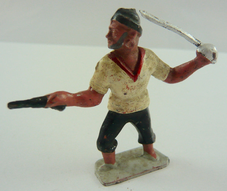 Johillco pirate with pistol and cutlass