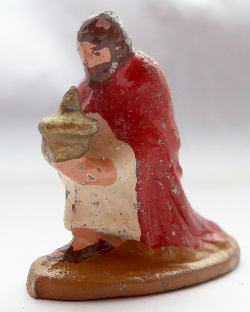 Wend-al nativity set kneeling wise man