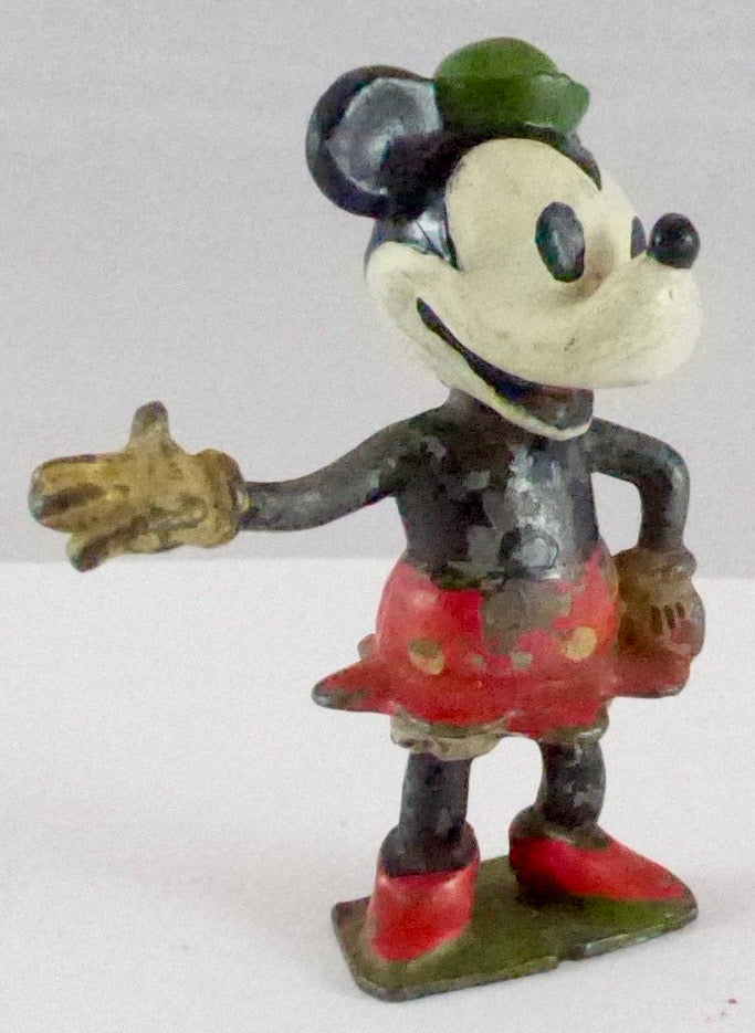 Britains Minnie Mouse, removable head
