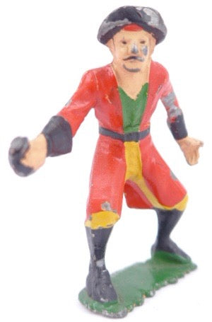 AHI Brand Toys pirate in red coat
