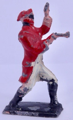 Crescent Dick Turpin highwayman, red