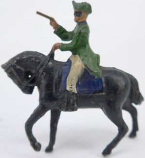 Crescent Dick Turpin highwayman on horse back