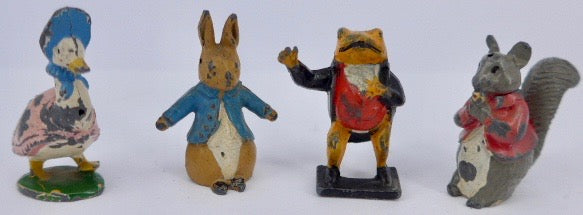 Timpo Beatrix Potter Peter Rabbit hollowcast set