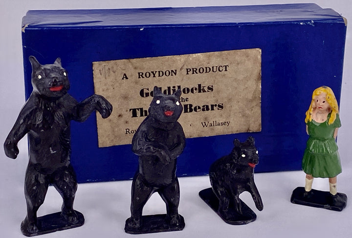 Roydon Goldilocks and the Three Bears, boxed, rare
