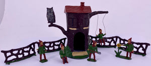 Barrett & Son Pixie Tree House complete set, first version