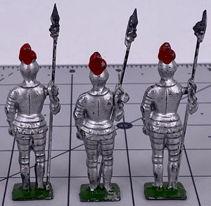 3 Crescent silver knights