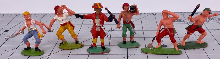 Charbens Straight 8 Series plastic pirates, set 93