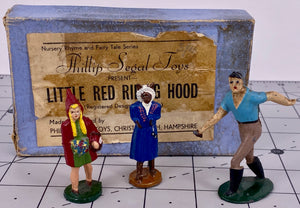 Phillip Segal Toys boxed Red Riding Hood set