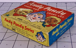 rare boxed Sacul Andy Pandy and friends set