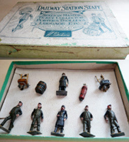 Britains Railway Station Staff Set 155 in original box
