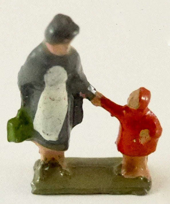 Britains Lilliput Series nurse with child