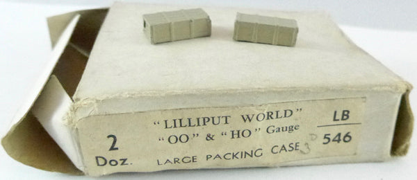 Britains Lilliput Series large packing case, set of two