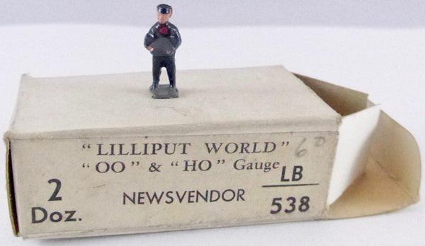 Britains Lilliput Series news vendor
