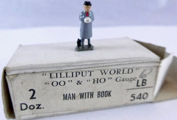 Britains Lilliput Series man with book