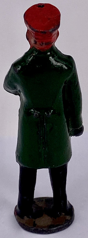 Johillco guard, green coat
