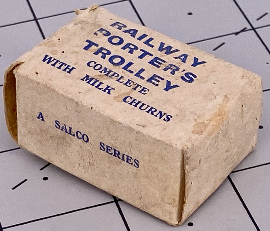 Salco boxed railway porter's trolley