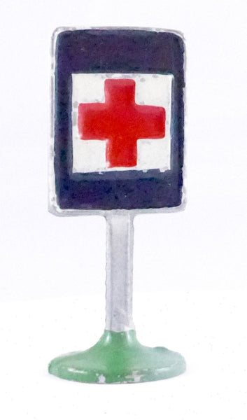Quiralu hospital warning road sign