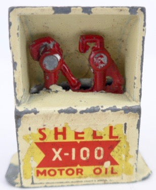 Crescent Shell oil cabinet
