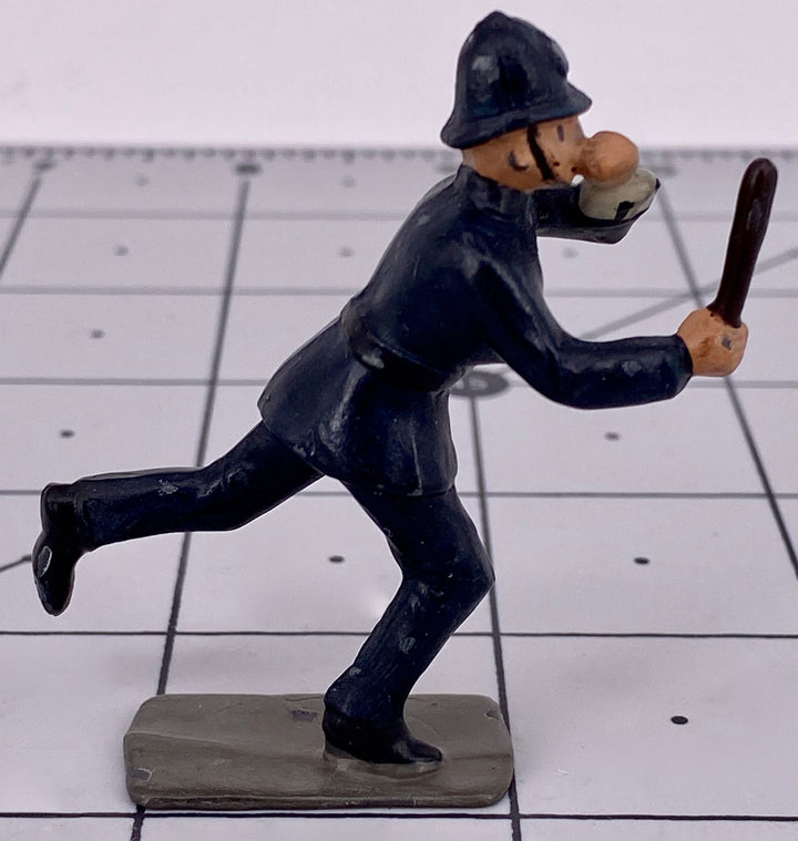 John Hill & Co policeman running with truncheon, rare