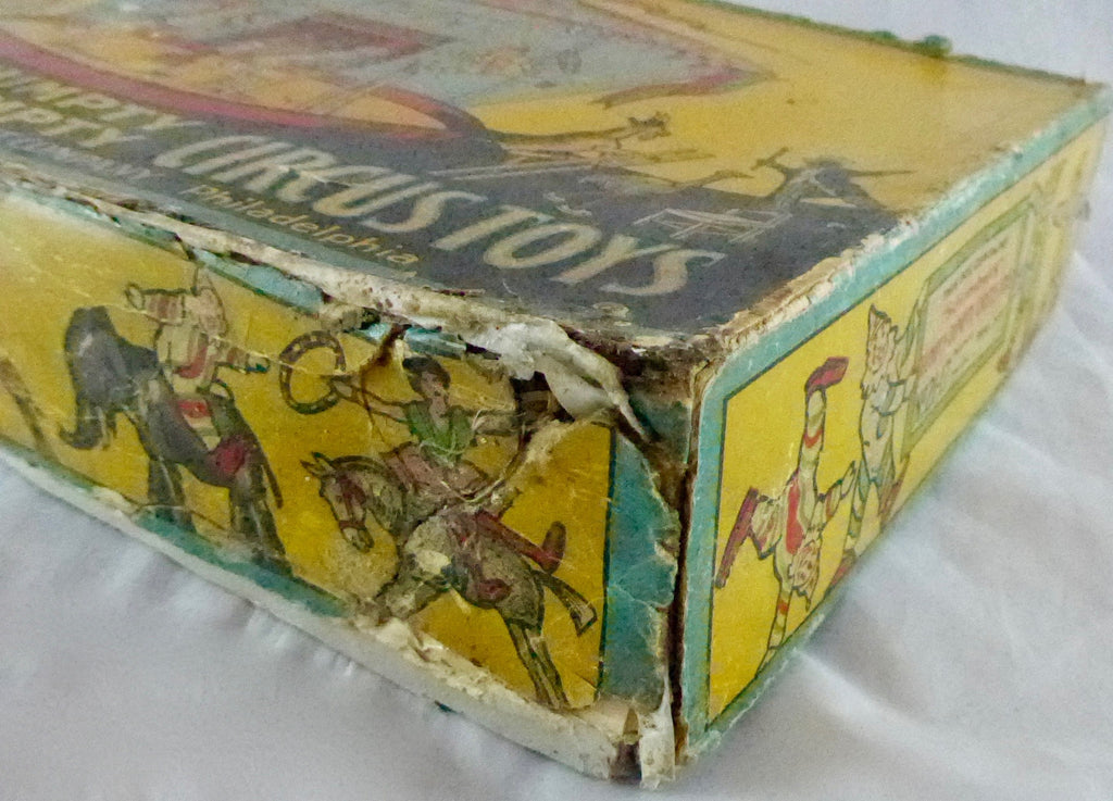 Schoenhut Humpty Dumpty Circus empty box set 21-27