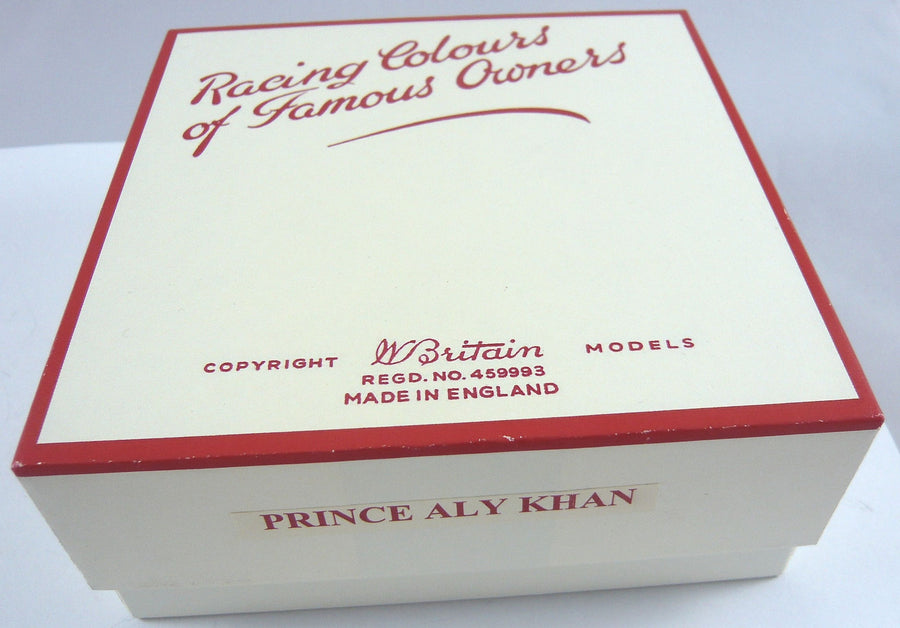 Britains Racing Colours Famous Owners: Prince Aly Khan
