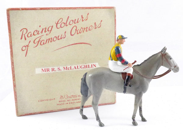 Britains Racing Colours Famous Owners, Canadian issue: Mr R S McLaughlin