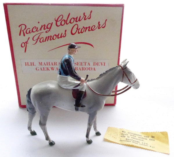 Britains Racing Colours Famous Owners: Maharanee Seeta Devi Gaekwar of  Baroda, boxed