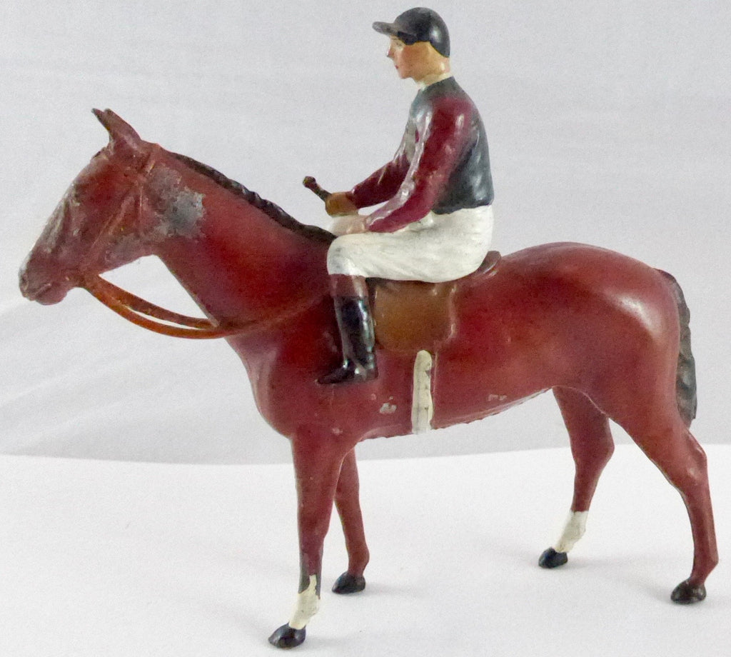 Britains Racing Colours Famous Owners: HM The King, pre-war, boxed