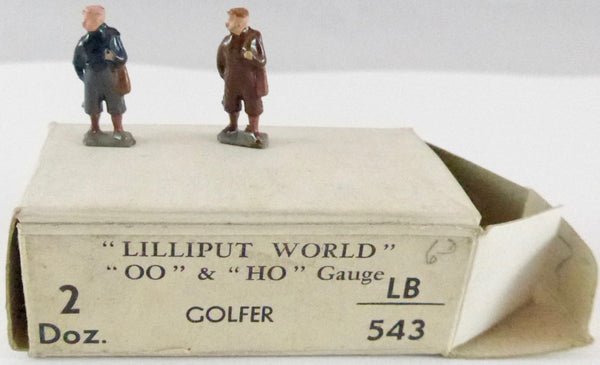 two Britains Lilliput golfers
