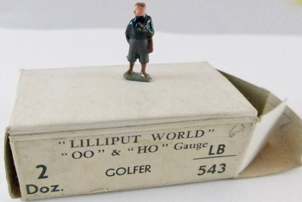 Britains Lilliput golfer, navy