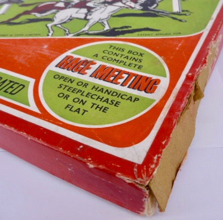 Speedex horse racing game with Britains horses